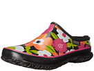 Bogs Spring Flowers Slide (Black Multi)