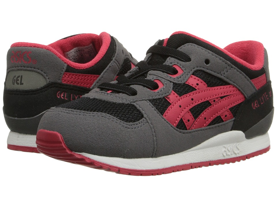 Onitsuka Tiger Kids by Asics - Gel-Lyte III TS (Toddler) (Black/Red) Boy's Shoes