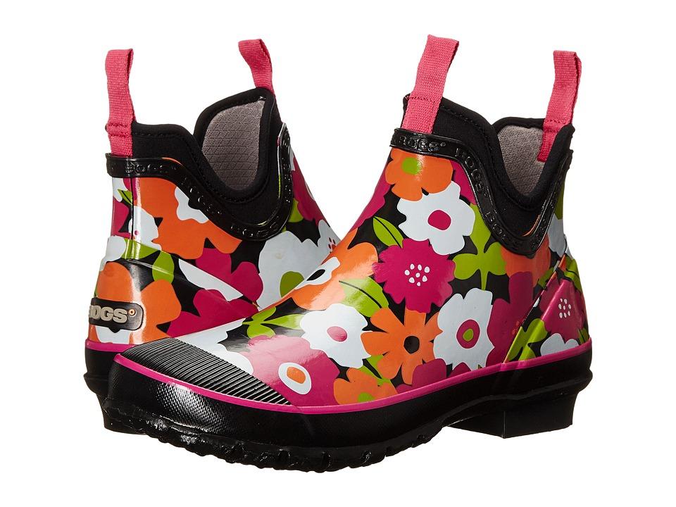 Bogs - Harper Spring Flowers (Black Multi) Women's Rain Boots