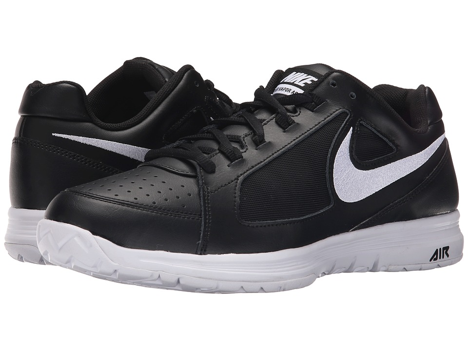 Nike - Air Vapor Ace (Black/White/White) Men's Tennis Shoes