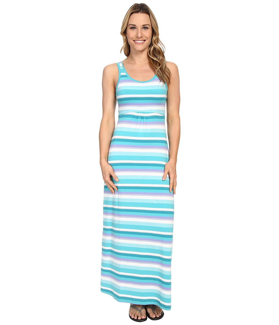 Columbia - Reel Beauty II Maxi Dress (Miami Multi Stripe) Women's Dress