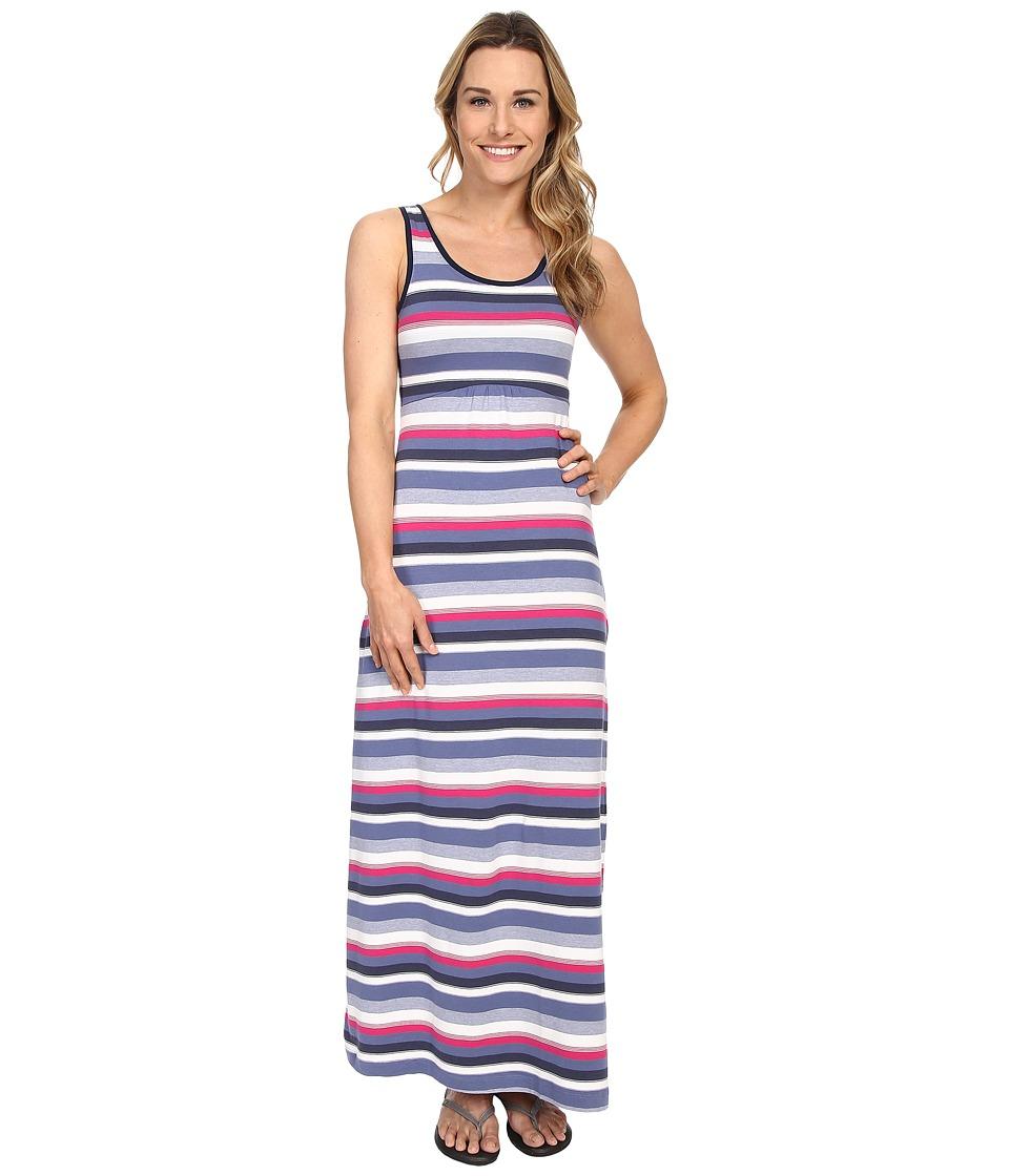 Columbia Reel Beauty II Maxi Dress (Bluebell Multi Stripe) Women