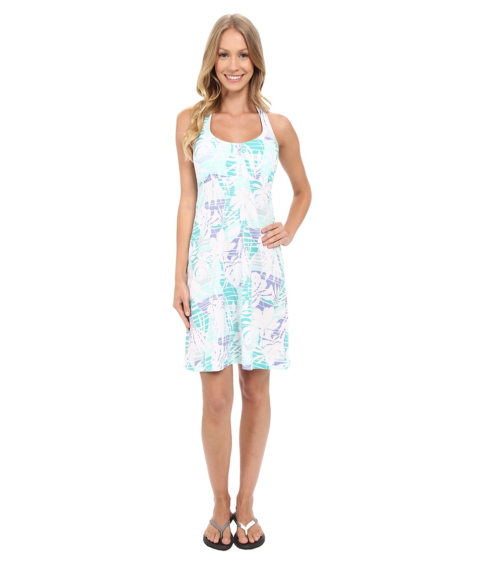 Columbia - Armadale Halter Top Dress (Miami Palm Print) Women's Dress
