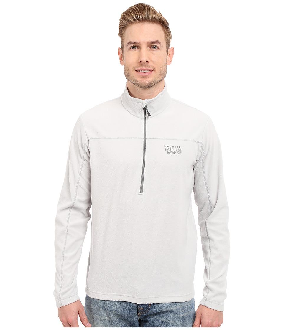 Mountain Hardwear - MicroChill Lite Zip T (Grey Ice) Men's Long Sleeve Pullover