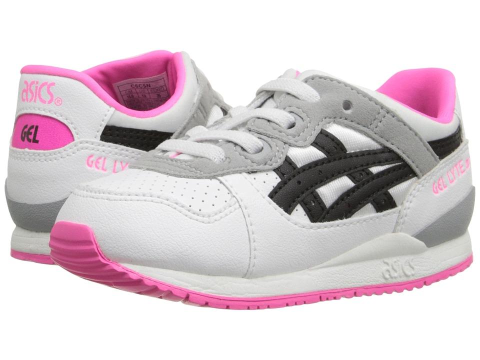 Onitsuka Tiger Kids by Asics - Gel-Lyte III TS (Toddler) (White/Black) Girls Shoes