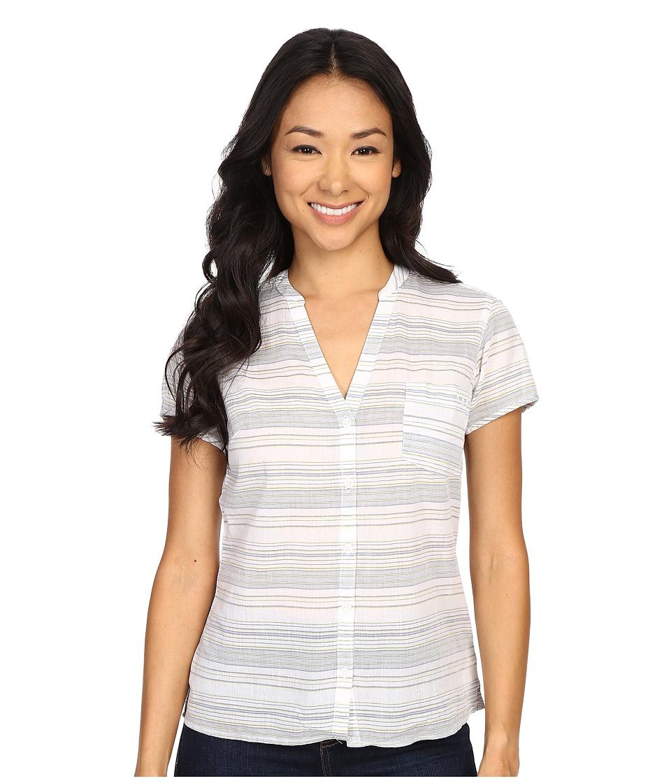 Columbia - Sun Drifter S/S Shirt (Collegiate Navy Stripe 1) Women's Short Sleeve Button Up