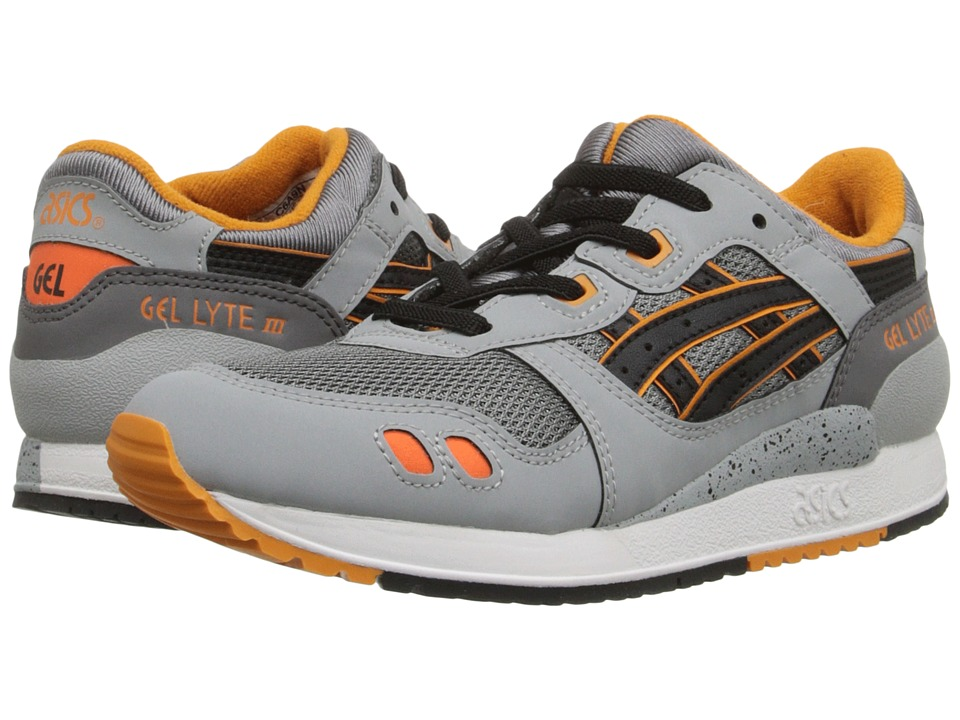 Onitsuka Tiger Kids by Asics - Gel-Lyte III PS (Little Kid) (Grey/Black) Boy's Shoes