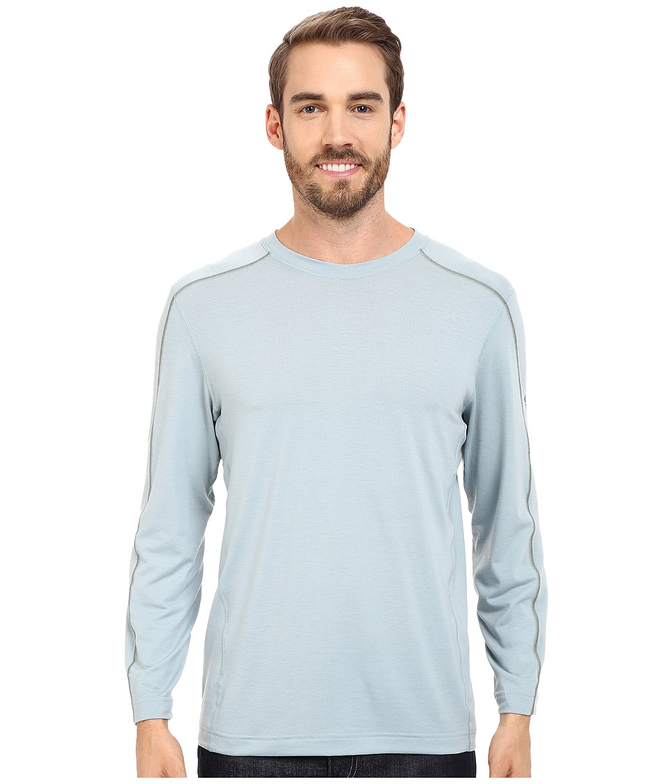 Mountain Hardwear - CoolHiker L/S Tee (Ice Shadow) Men