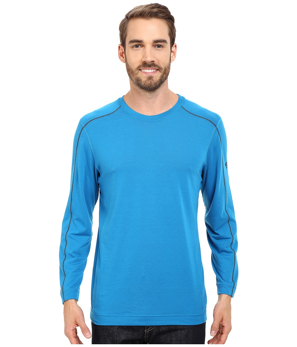 Mountain Hardwear - CoolHiker L/S Tee (Dark Compass) Men's T Shirt