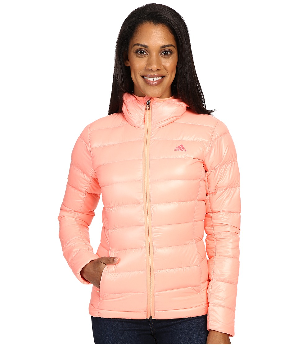 adidas Outdoor - Light Down Jacket (Sun Glow) Women's Coat
