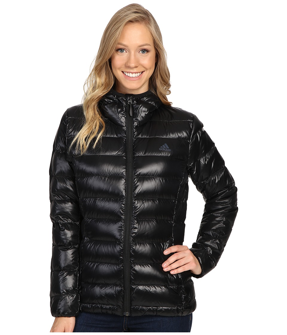 adidas Outdoor - Light Down Jacket (Black) Women's Coat