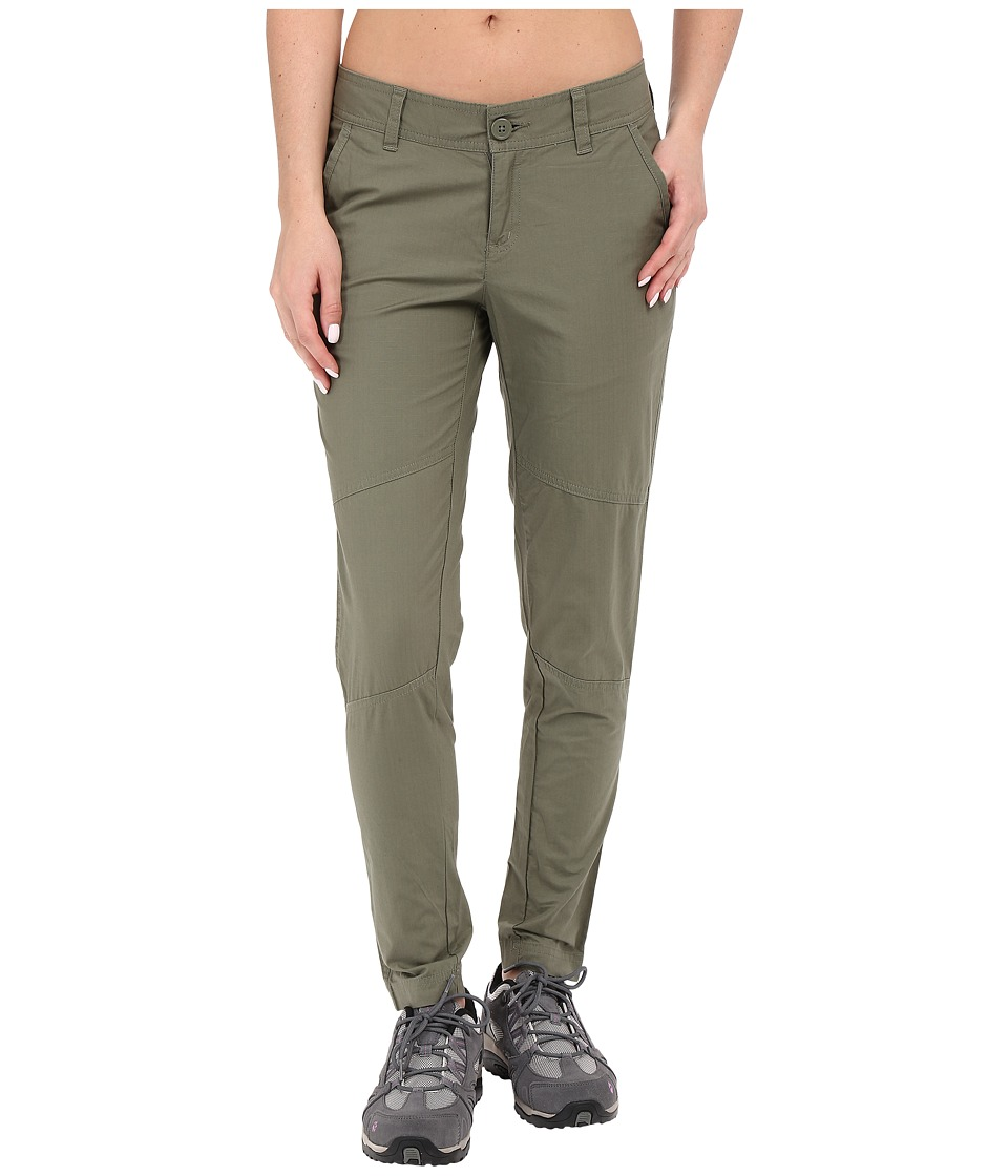 Mountain Hardwear - Wandering Ankle Pants (Stone Green) Women's Casual Pants