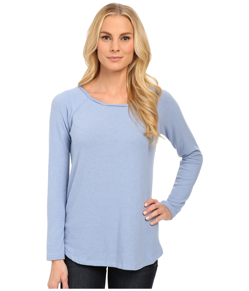 NYDJ - Cozy Sarah Sweat Shirt (Dusty Slate) Women's Clothing