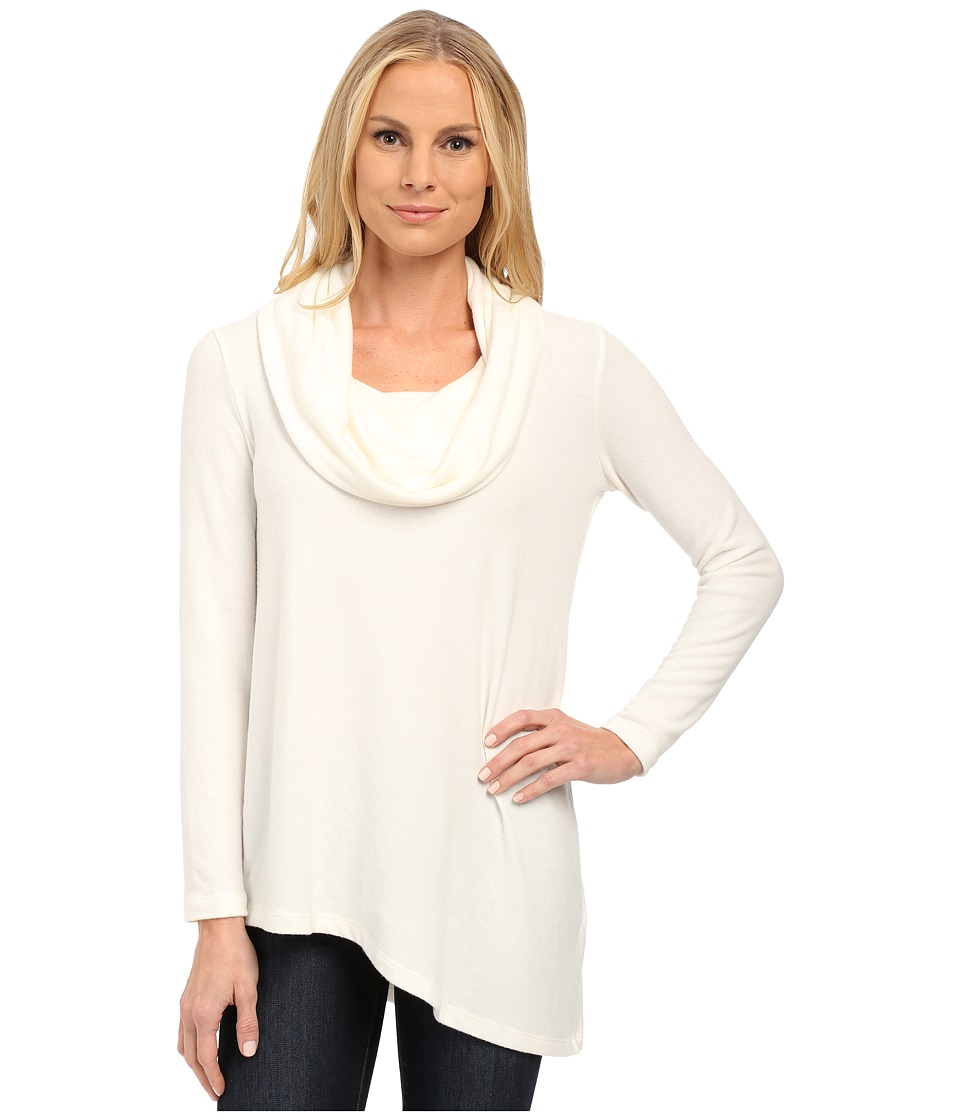 NYDJ - Cozy Constance Cowl Neck (Vanilla) Women's Clothing