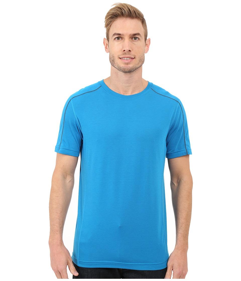 Mountain Hardwear - CoolHiker S/S Tee (Dark Compass) Men's Short Sleeve Pullover