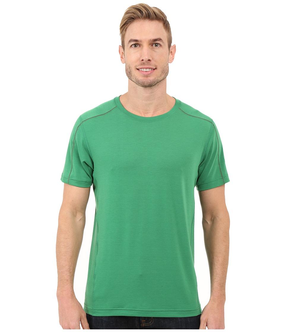 Mountain Hardwear - CoolHiker S/S Tee (Serpent Green) Men's Short Sleeve Pullover