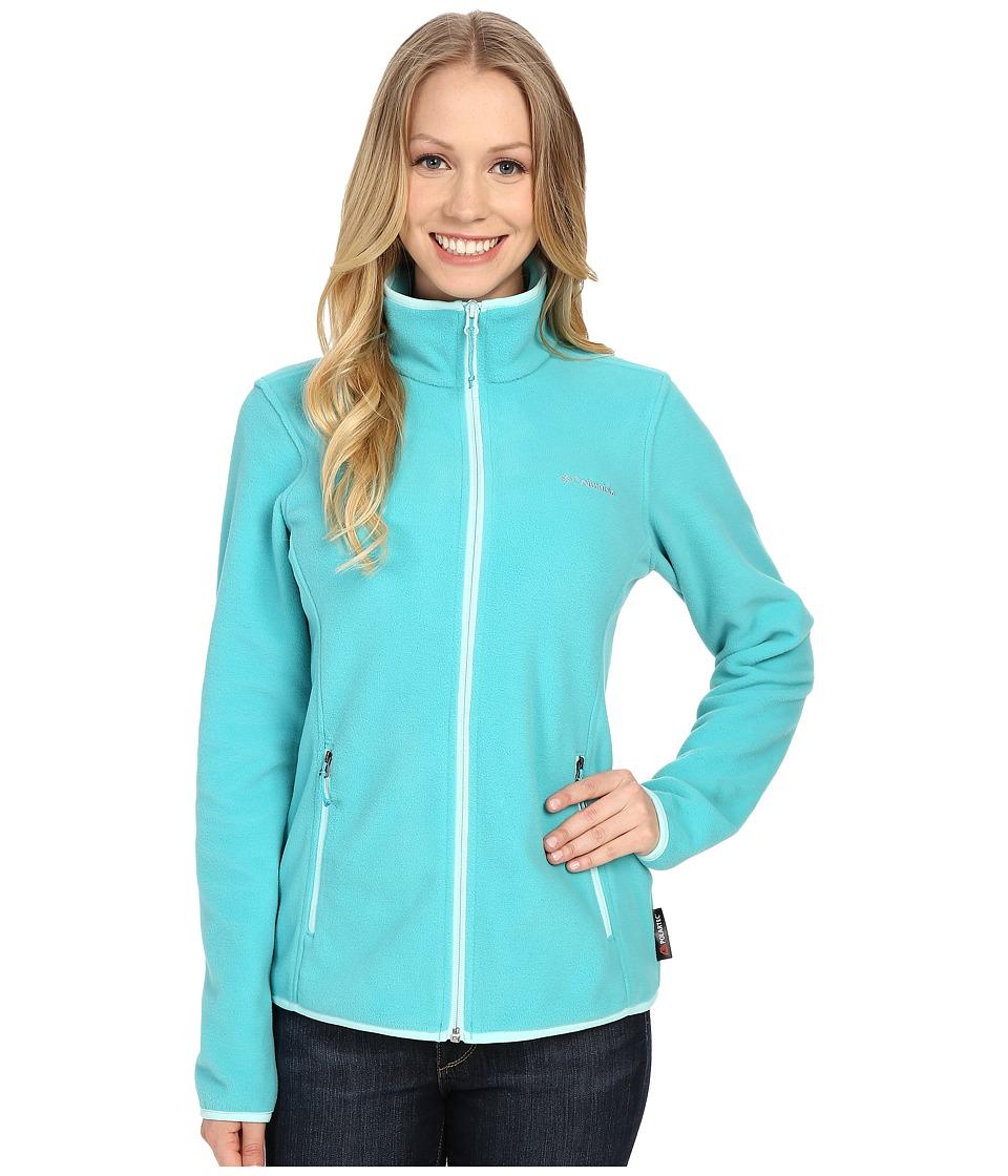 Columbia - Fuller Ridge Fleece Jacket (Miami/Ocean Water) Women's Coat