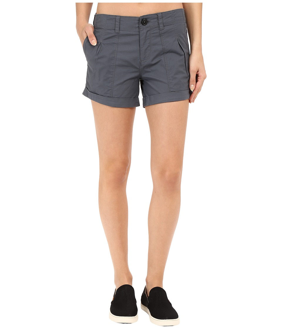 Mountain Hardwear - Wandering Solid Shorts (Graphite) Women's Shorts