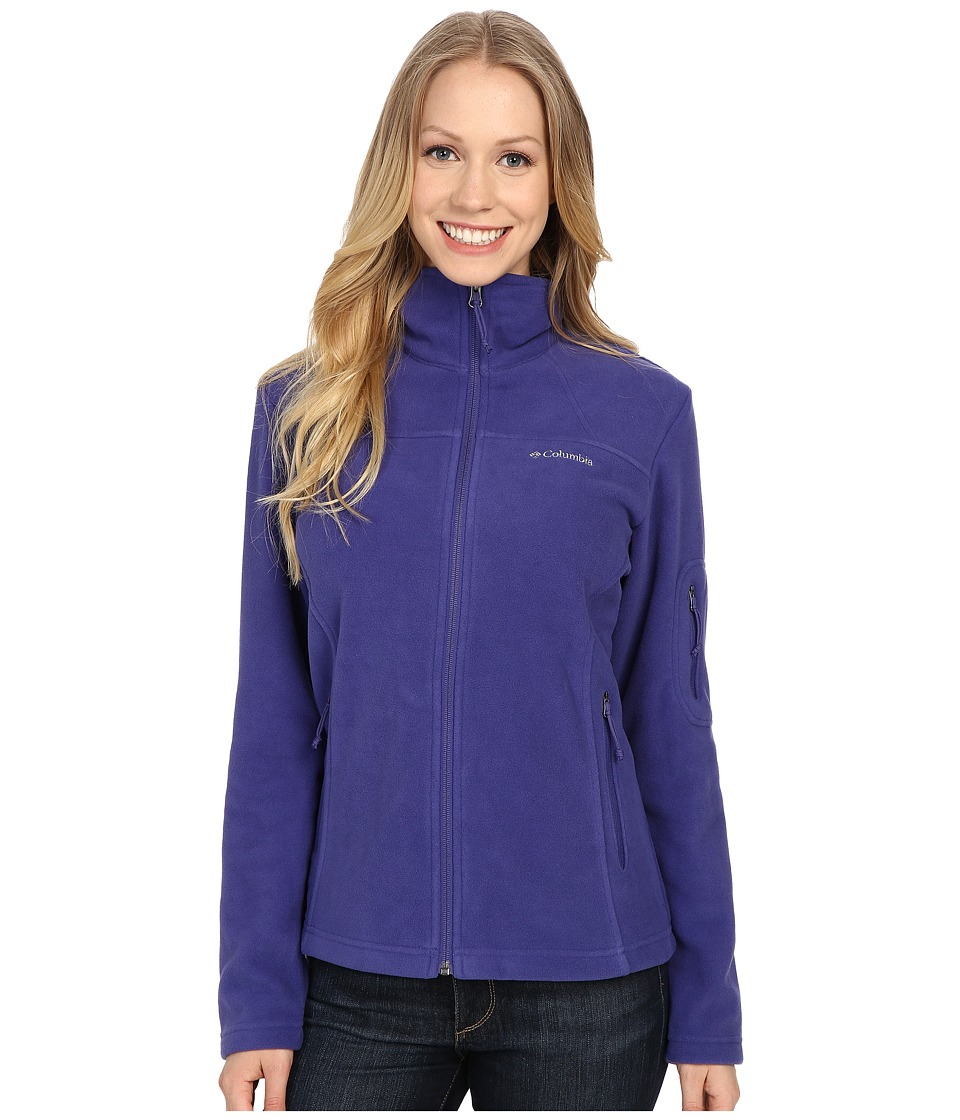 Columbia - Fast Trek II Full-Zip Fleece Jacket (Skyward) Women's Coat