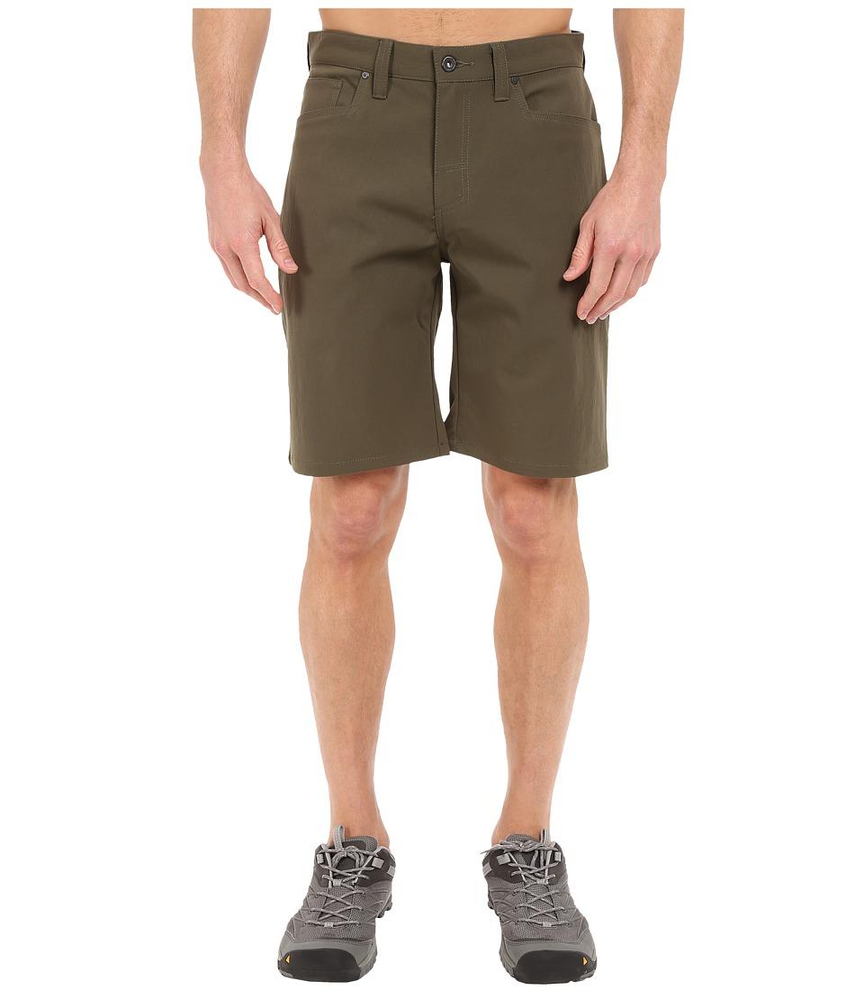 Mountain Hardwear Pierotm Utility Shorts (Peatmoss) Men