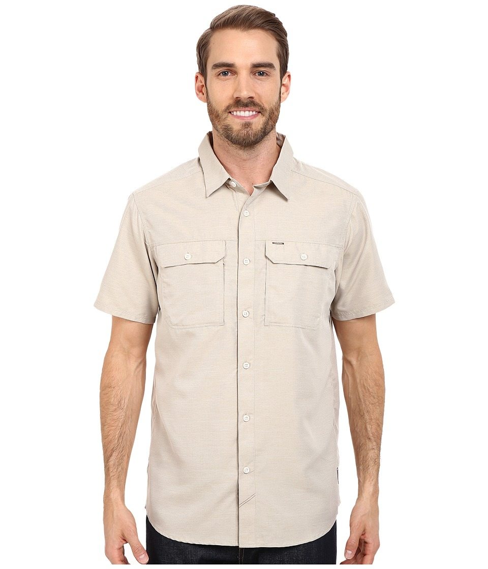 Mountain Hardwear - Canyon S/S Shirt (Saddle) Men's Short Sleeve Button Up