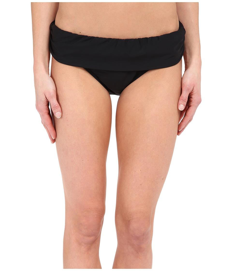 Athena - Cabana Solids Banded Pant (Black) Women's Swimwear