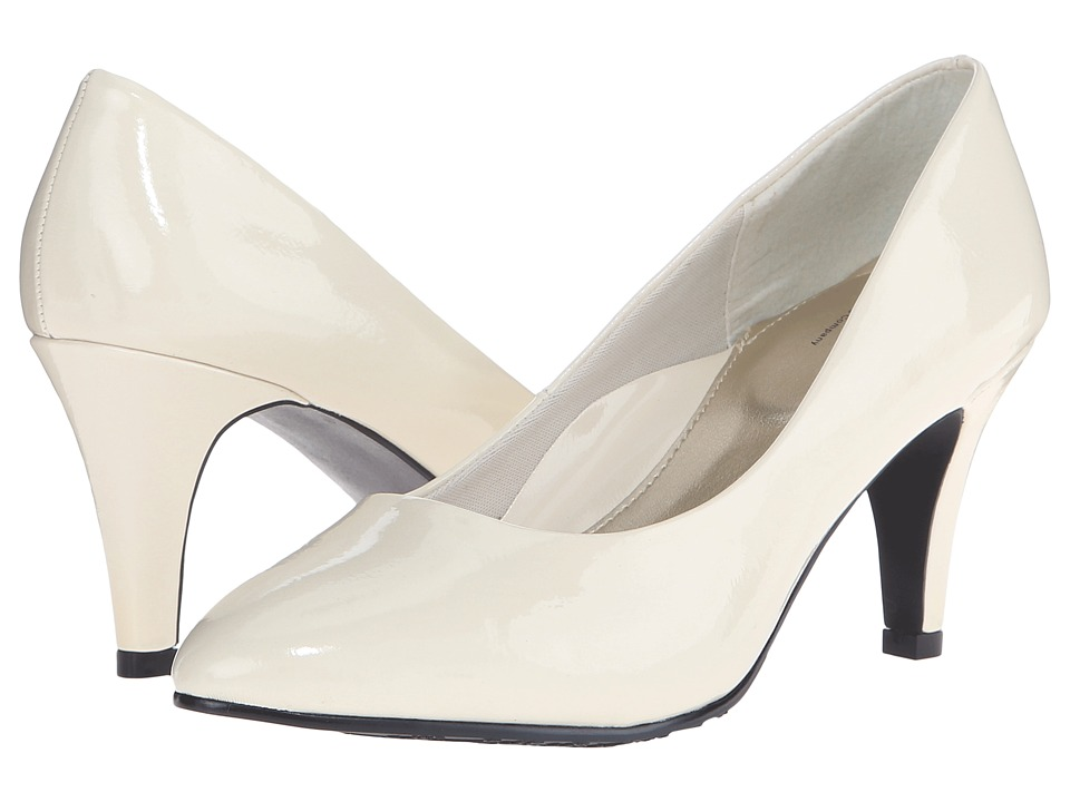 Soft Style Raylene (Ivory Pearlized Patent) High Heels