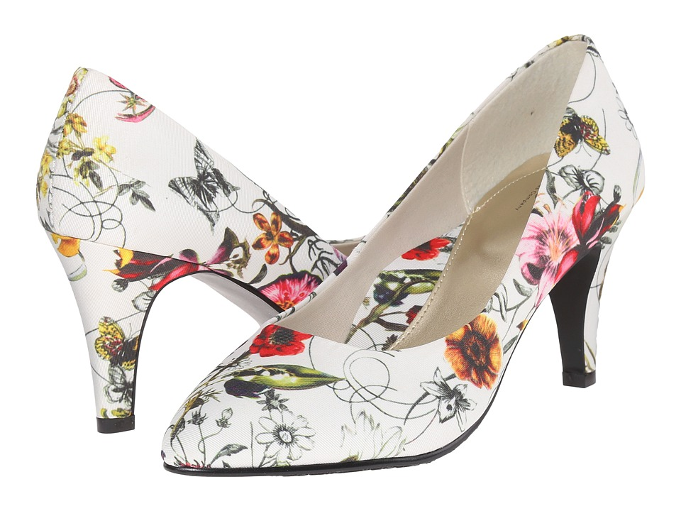 Soft Style - Raylene (White Spring Grosgrain) High Heels