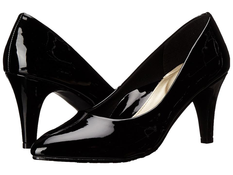 Soft Style Raylene (Black Patent) High Heels