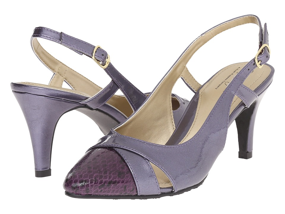 Soft Style - Rielle (Cadet Pearlized Patent/Python) High Heels