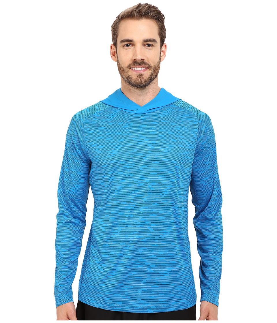 Mountain Hardwear - River Gorge L/S Hoodie (Dark Compass) Men's Long Sleeve Pullover