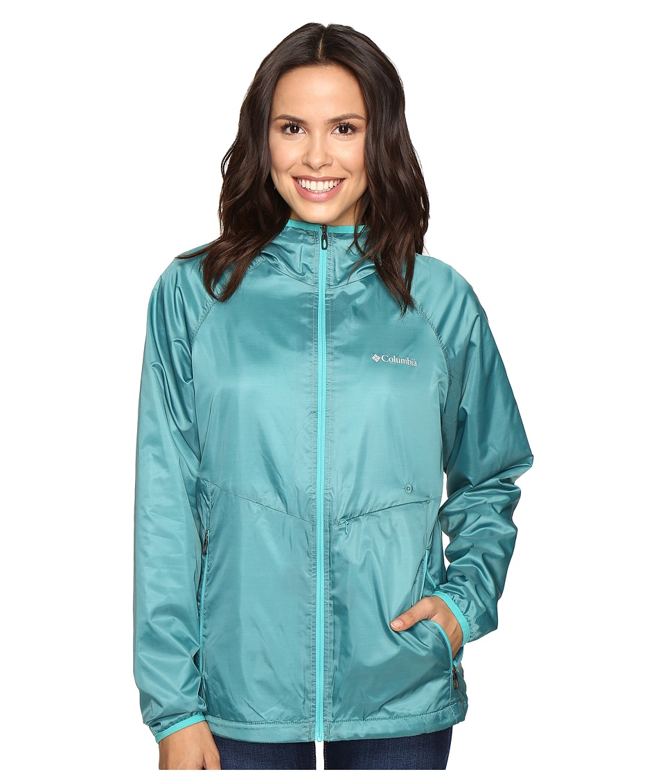 Columbia - Plushing It Jacket (Miami/Ocean Water) Women's Coat