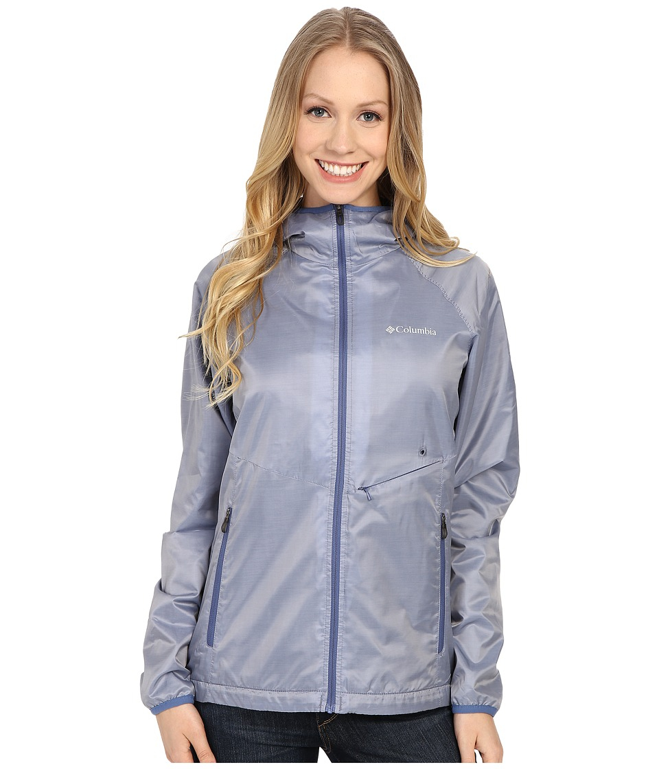 Columbia - Plushing It Jacket (Bluebell/Nocturnal) Women's Coat