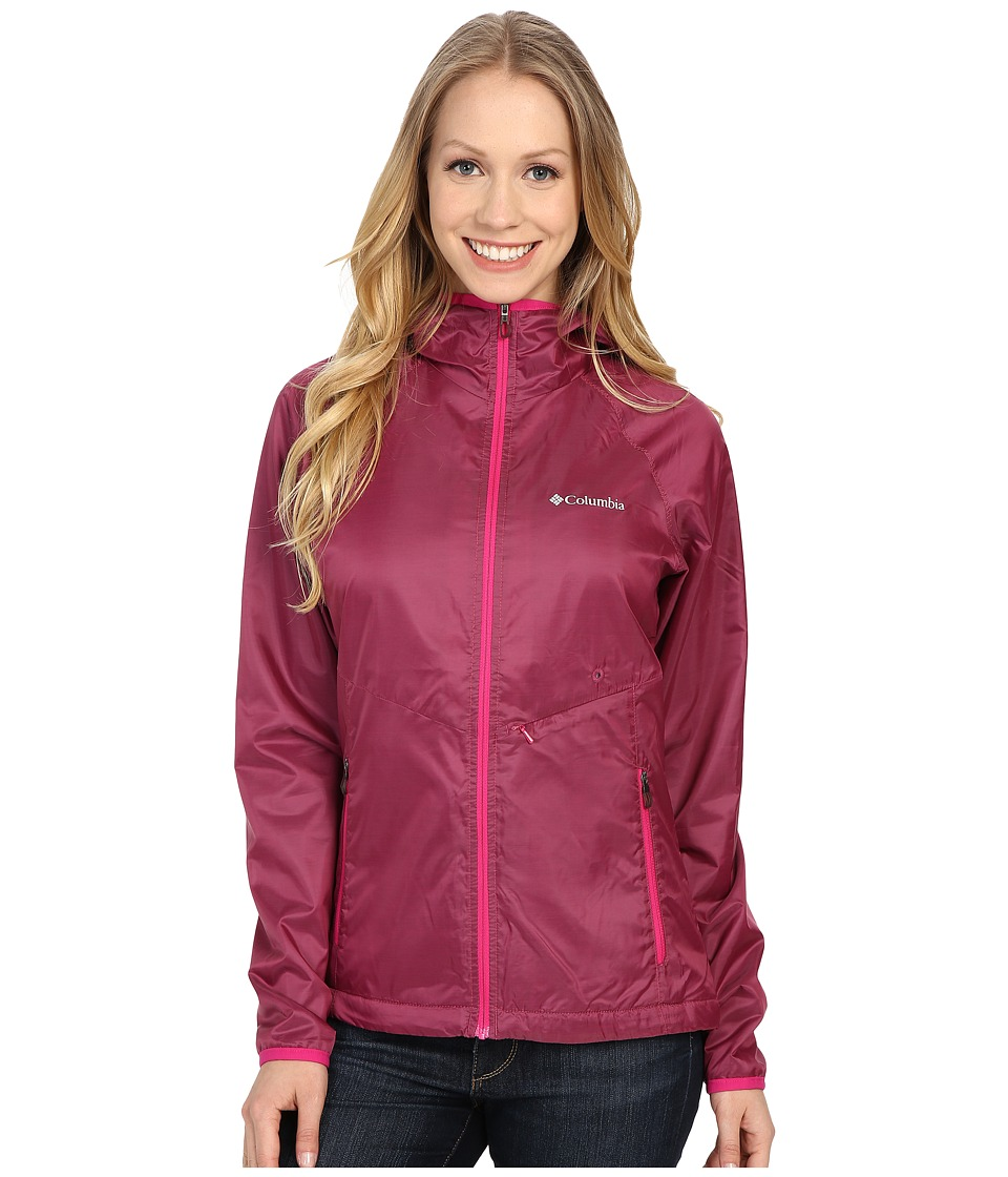 Columbia - Plushing It Jacket (Haute Pink/Beacon) Women's Coat