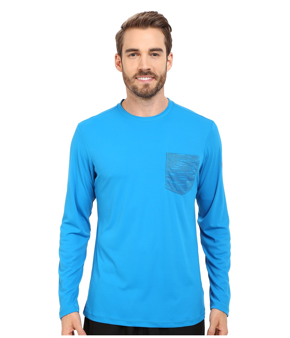 Mountain Hardwear - River Gorge L/S Crew (Dark Compass) Men's Long Sleeve Pullover