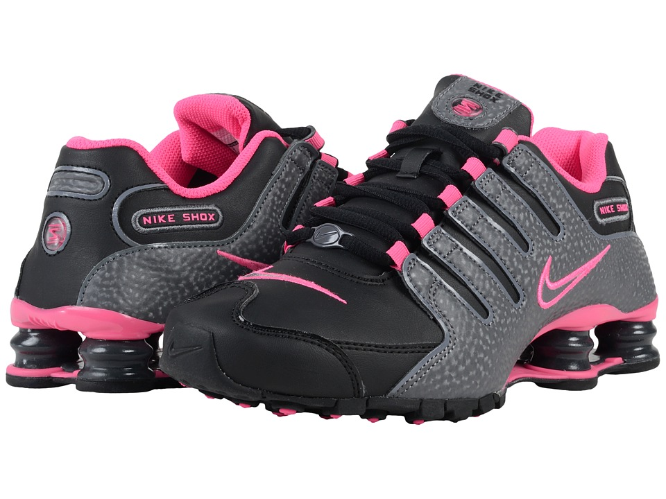 Nike - Shox NZ (Black/Dark Grey/Pink Blast) Women's Running Shoes