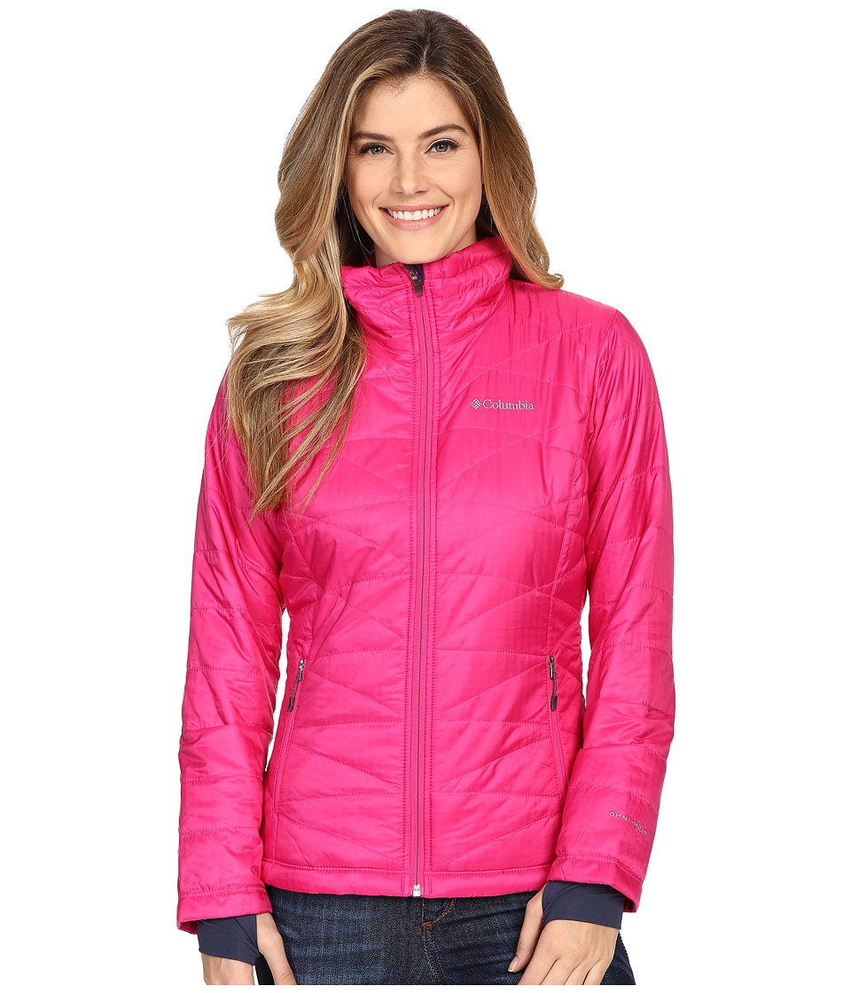 Columbia - Mighty Lite III Jacket (Haute Pink) Women's Jacket