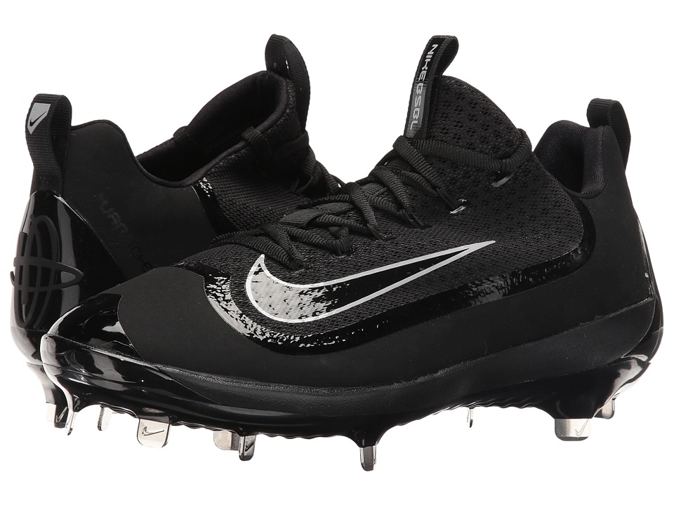 Nike - Air Huarache 2KFilth Elite Low (Black/Wolf Grey/Black) Men's Cleated Shoes