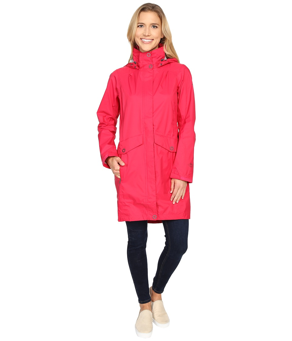 Columbia EvaPOURationtm Trench (Ruby Red) Women