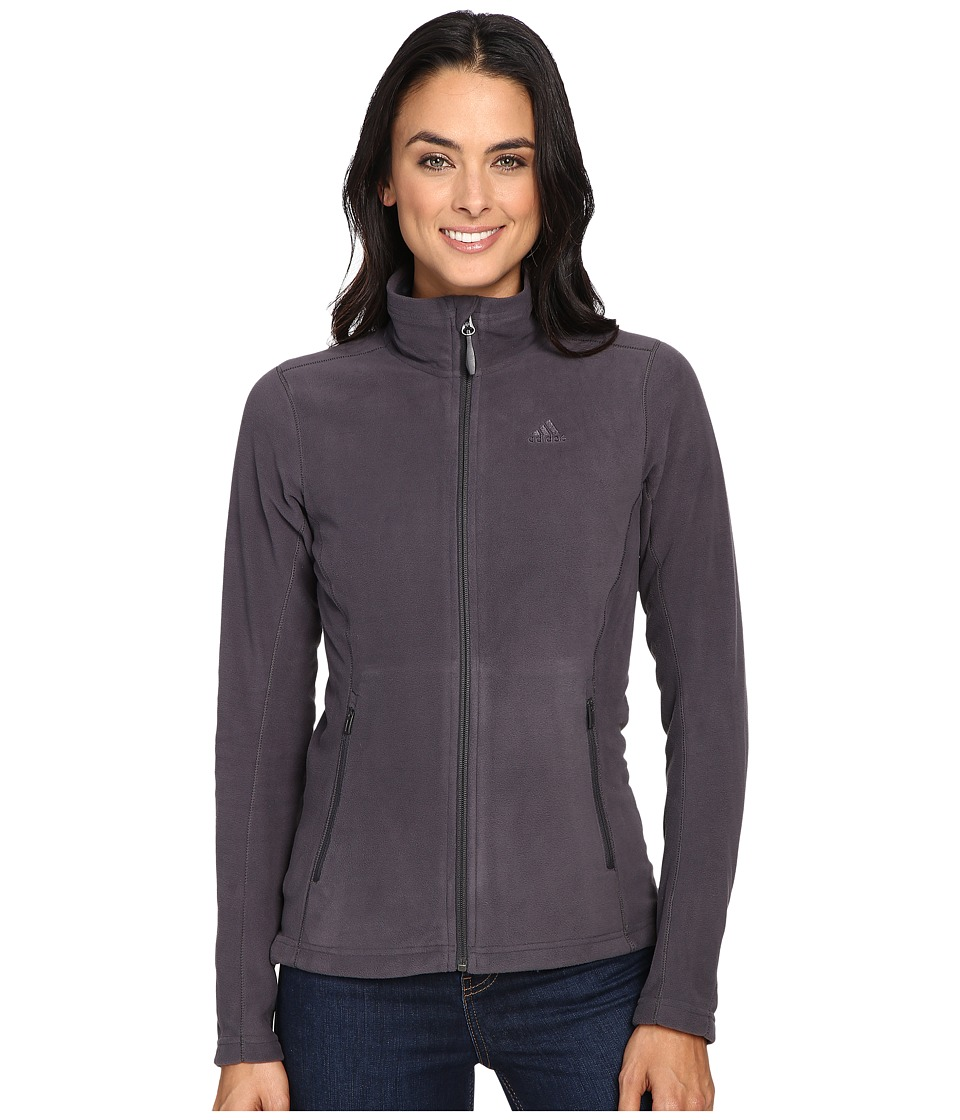 adidas Outdoor - Hiking Reachout Jacket (Shadow Black) Women's Jacket