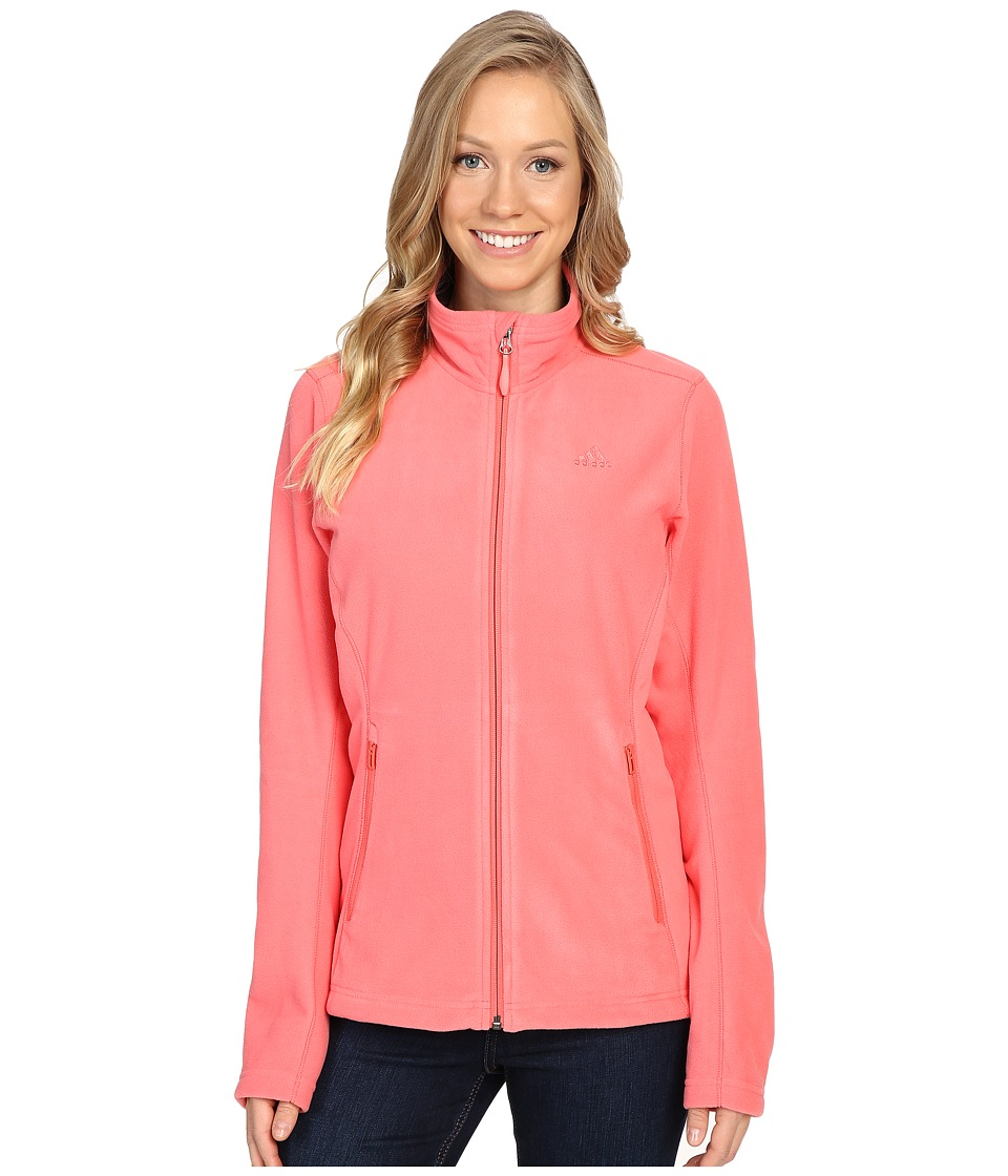 adidas Outdoor - Hiking Reachout Jacket (Super Blush) Women's Jacket