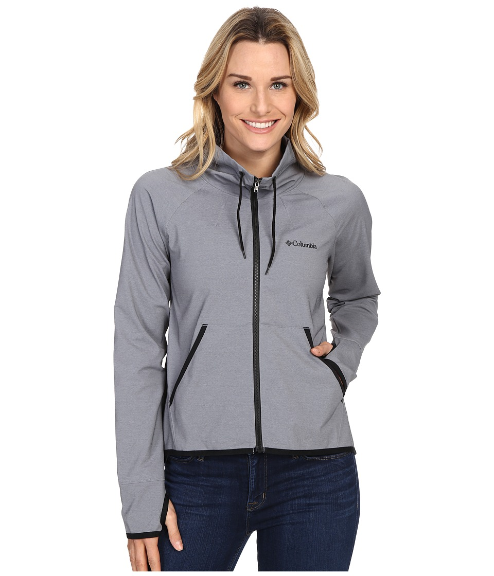 Columbia Sweet As Softshell Jacket (Black Heather) Women