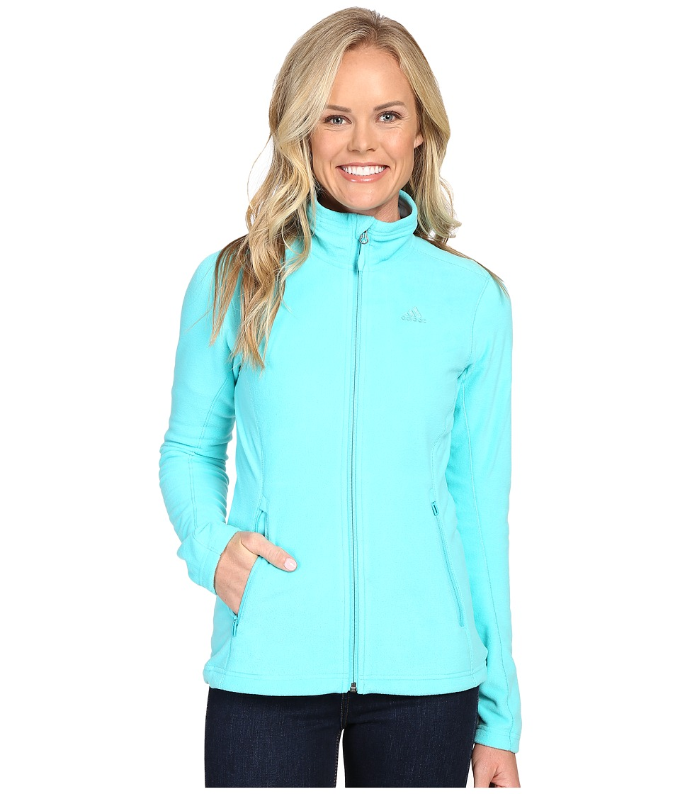 adidas Outdoor - Hiking Reachout Jacket (Vivid Mint 2) Women's Jacket