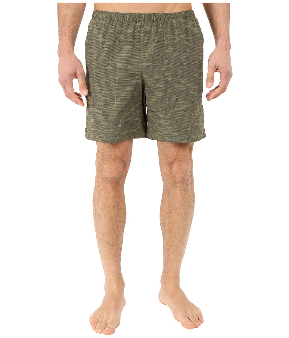 Mountain Hardwear - Class IV Printed Shorts (Stone Green) Men's Shorts