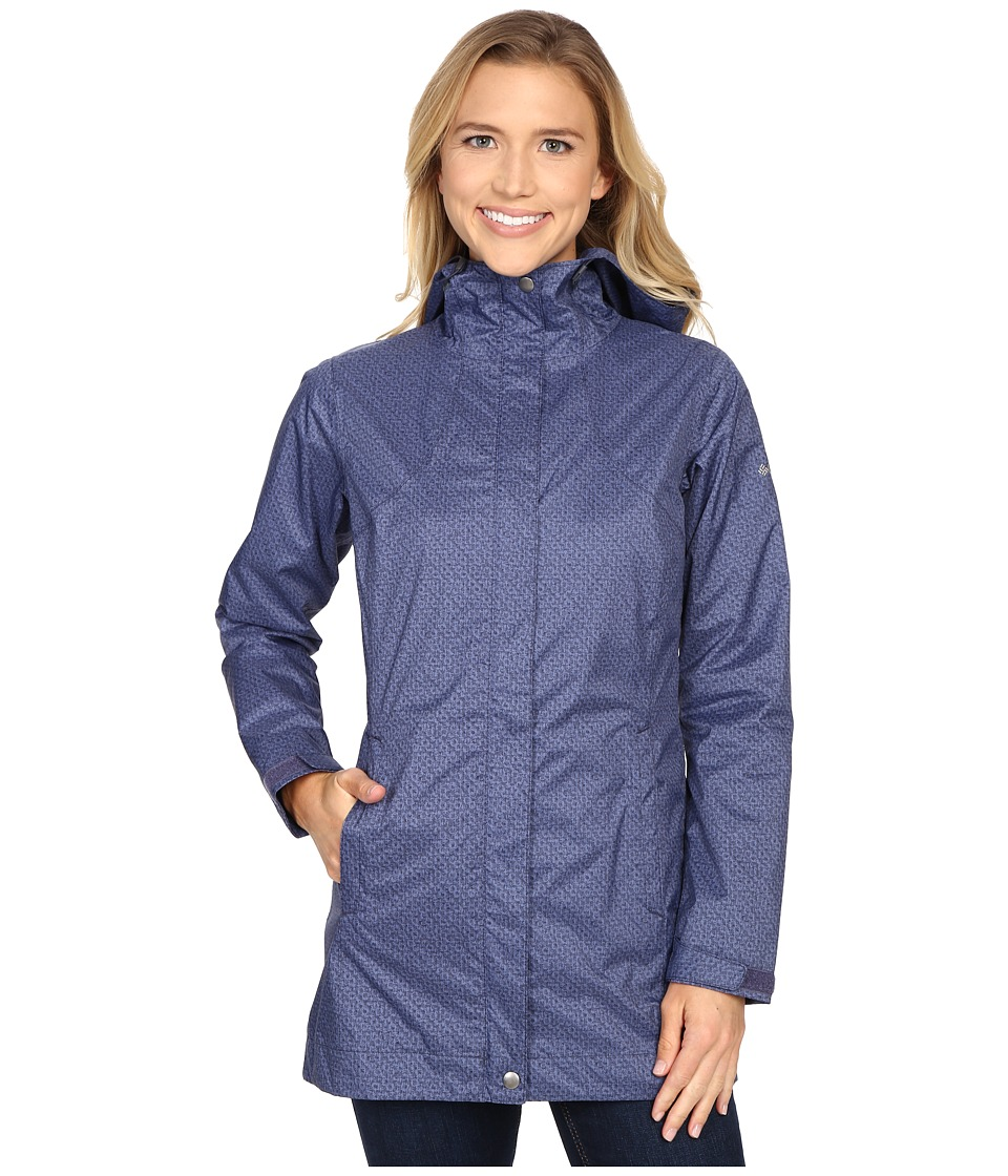 Columbia - Splash A Little Rain Jacket (Nocturnal Print) Women's Coat