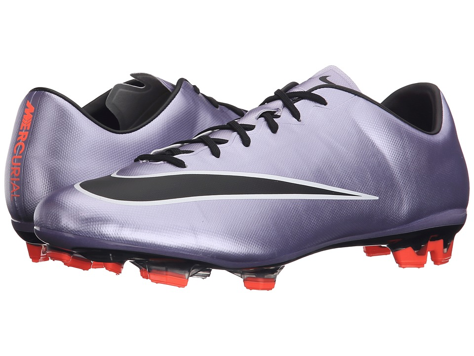 Nike - Mercurial Veloce II FG (Urban Lilac/Bright Mango/Black) Men's Soccer Shoes