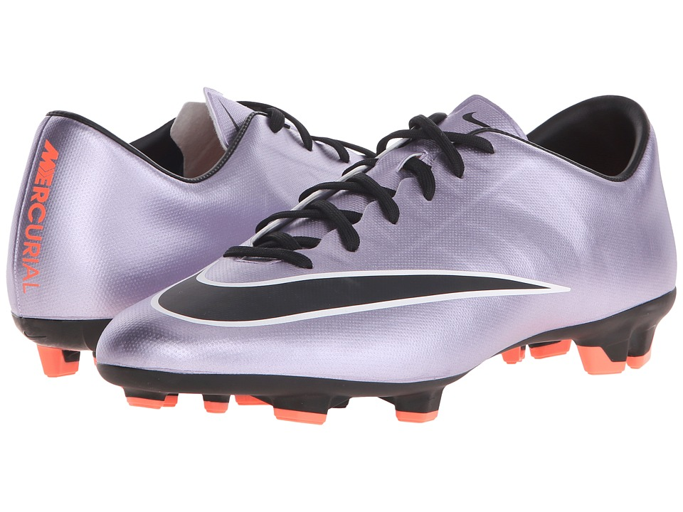 Nike - Mercurial Victory V FG (Urban Lilac/Bright Mango/Black) Men's Soccer Shoes