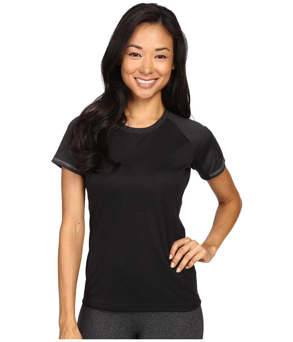 adidas Outdoor - All Outdoor Climachill Fast Crew (Black) Women's Short Sleeve Pullover