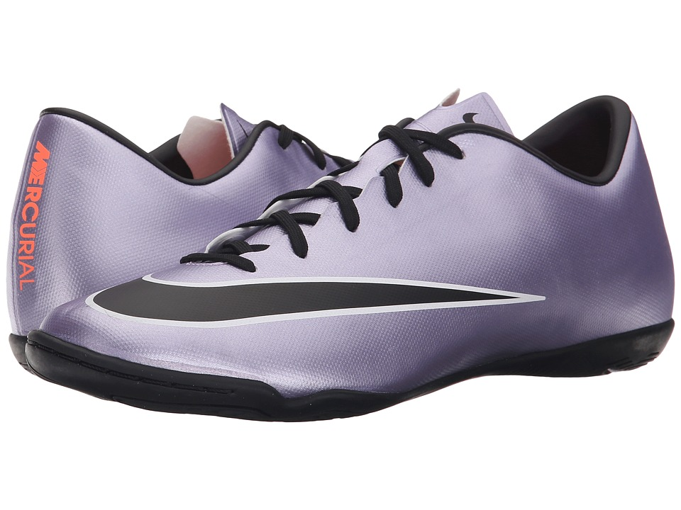 Nike - Mercurial Victory V IC (Urban Lilac/Bright Mango/Black) Men's Soccer Shoes