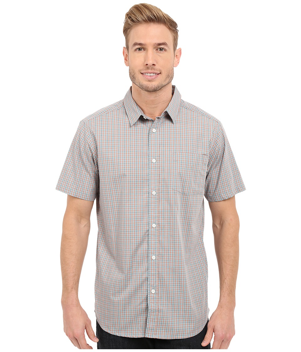 Mountain Hardwear - Peso S/S Shirt (Ice Shadow) Men's Short Sleeve Button Up